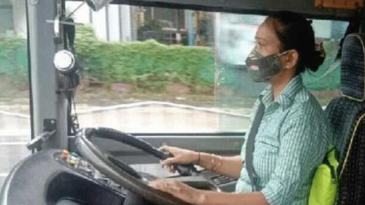 Meet Ritu Narwal, Madhya Pradesh's First-Ever Woman Bus Driver