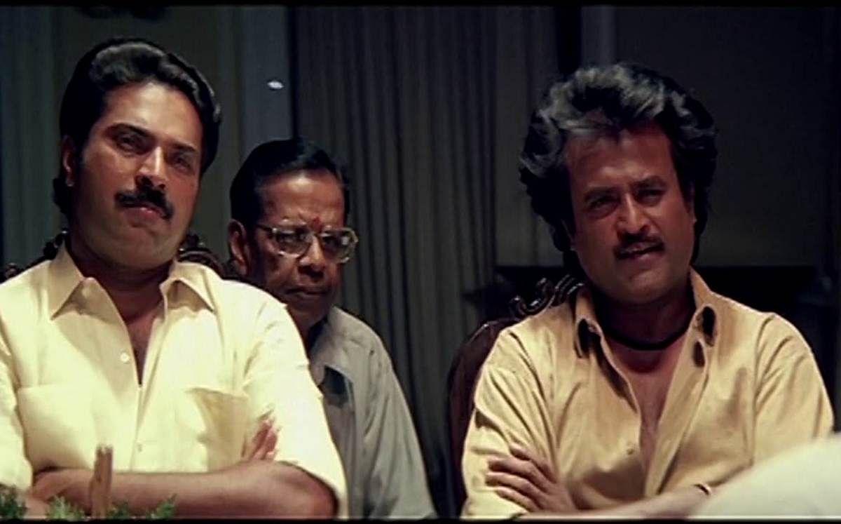 "<div class=""paragraphs""><p>Mammootty in&nbsp;<em>Thalapathi&nbsp;</em>with Rajinikanth.</p></div>"