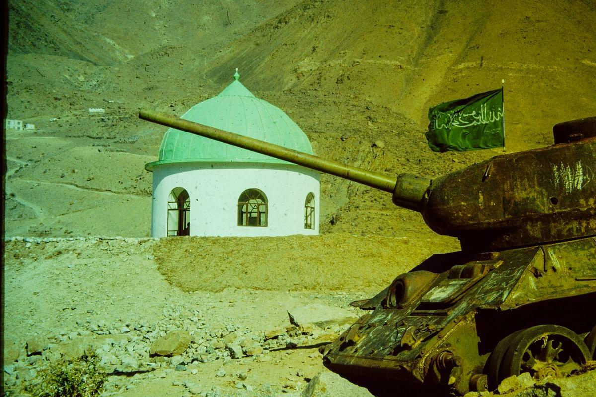 Taliban Vandalise Tomb of 'Lion of Panjshir' Ahmad Shah Massoud