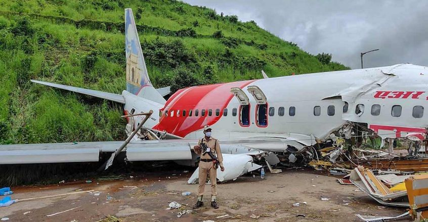 """<div class=""""paragraphs""""><p>21 people on board were killed in the crash after the aircraft overshot the landing mark.</p></div>"""