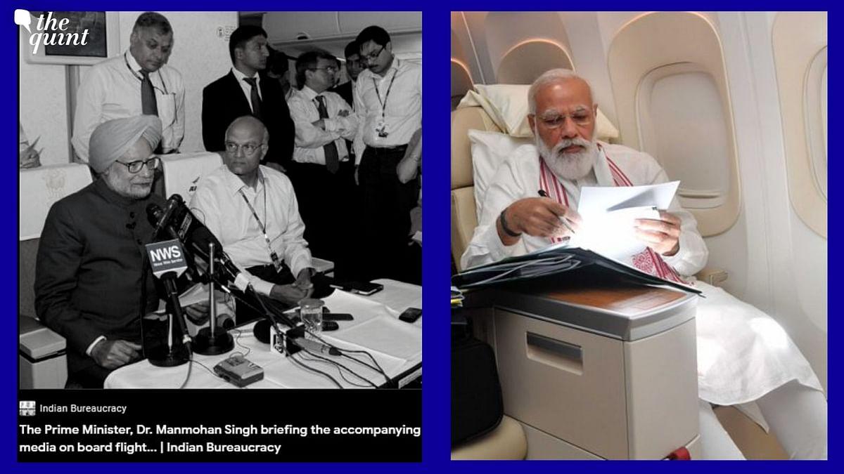 Hard to Copy: Cong Shares Manmohan Singh's Presser Pics Post Modi's Flight Tweet