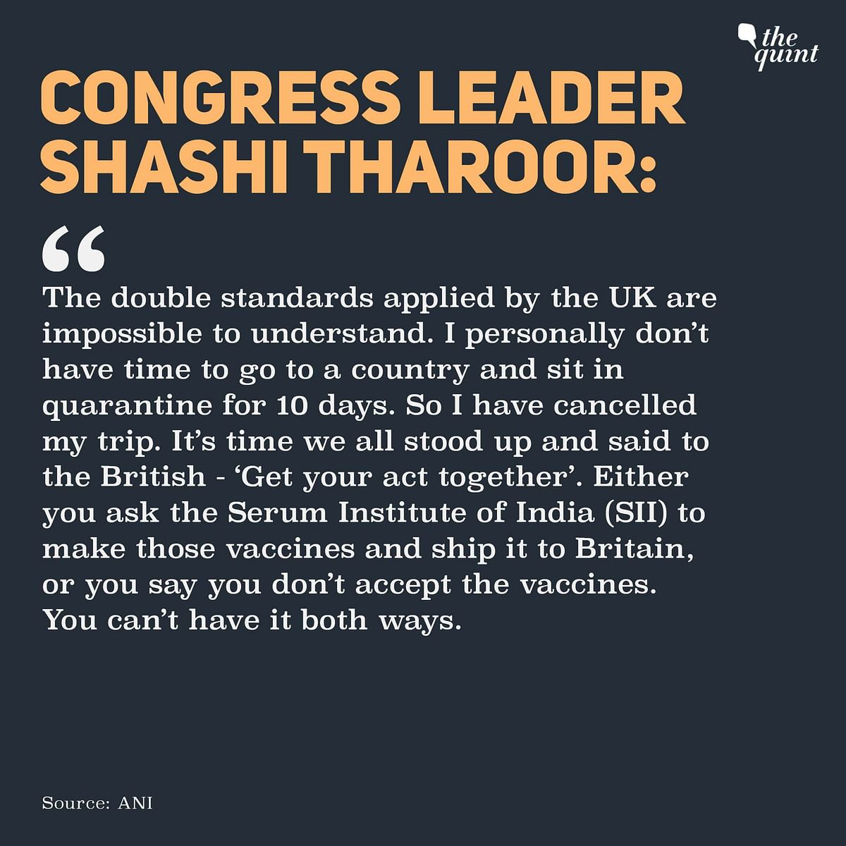 India-UK Travel Row: From PM Modi to Shashi Tharoor, Who Said What