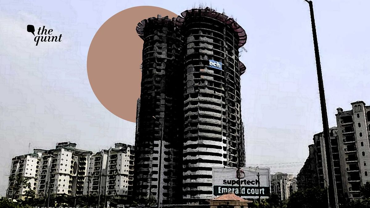 """<div class=""""paragraphs""""><p>Real estate developer Supertech moved the Supreme Court on Wednesday, 29 September against its order dated 31 August, which directed the demolition of the two 40-storey towers at its Emerald Court housing project in Noida.</p></div>"""