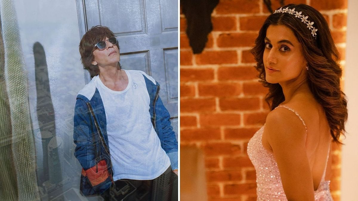 Taapsee Pannu & Shah Rukh Khan's Next Film to be Based on 'Donkey Flight'?