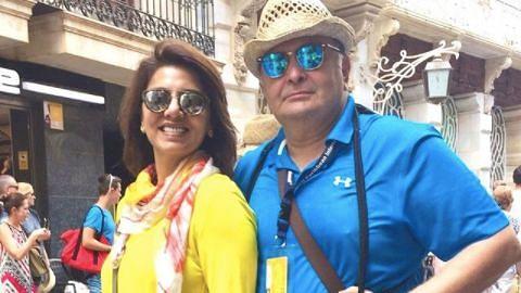 'I'm Sure He is Celebrating': Neetu Singh's Post On Rishi Kapoor's Birthday