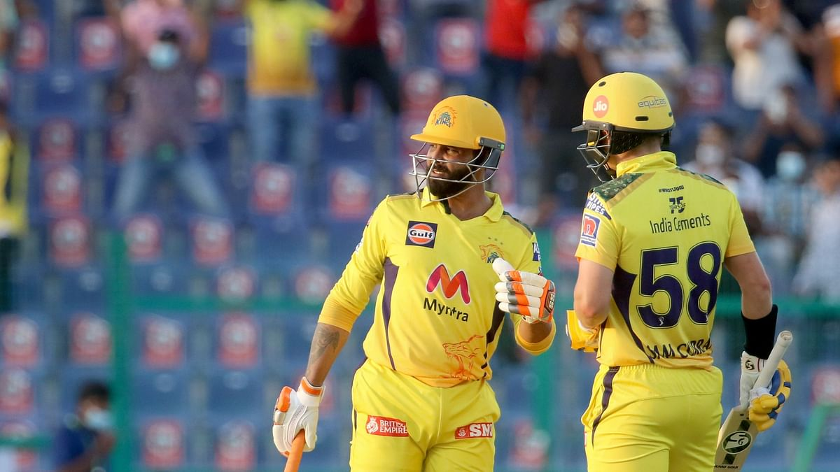 IPL 2021: Jadeja Takes CSK Home Against KKR in Thriller; Rise to Top of Table