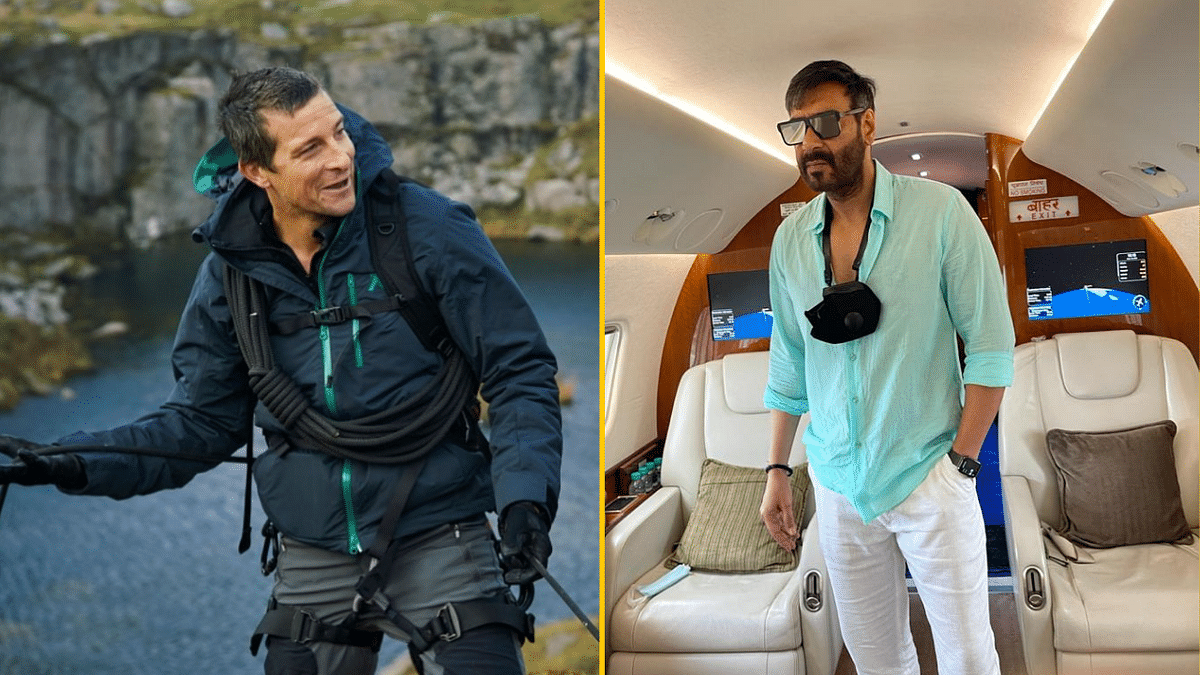 After Akshay Kumar, Ajay Devgn Shoots for 'Into the Wild With Bear Grylls'