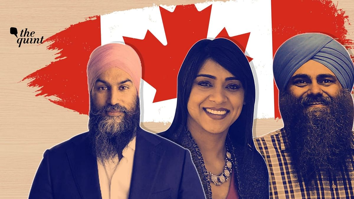 """<div class=""""paragraphs""""><p>NDP leader Jagmeet Singh, Diversity Minister&nbsp;Bardish Chagger, and Conservative Party of Canada member Tim Uppal. &nbsp;</p></div>"""