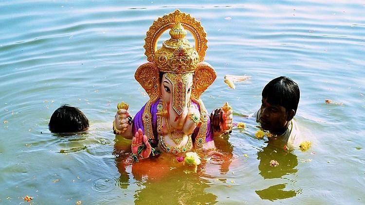 SC Allows PoP Ganesh Idol Immersion at Hyd's Hussain Sagar Lake for 'Last Time'