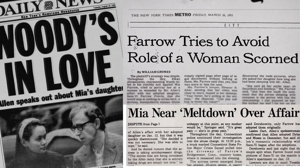 """<div class=""""paragraphs""""><p>Newspaper clippings show how Woody Allen controlled the press.</p></div>"""