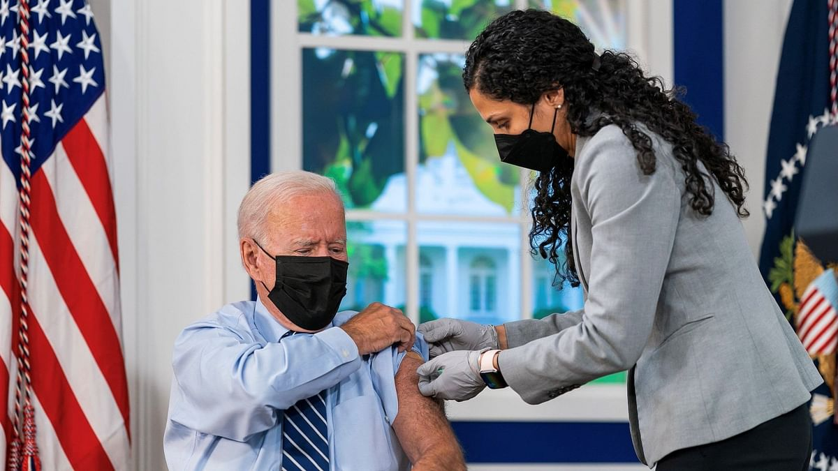 As US Begins COVID-19 Booster Shots, Biden Gets His: Who Is Eligible To Take It?