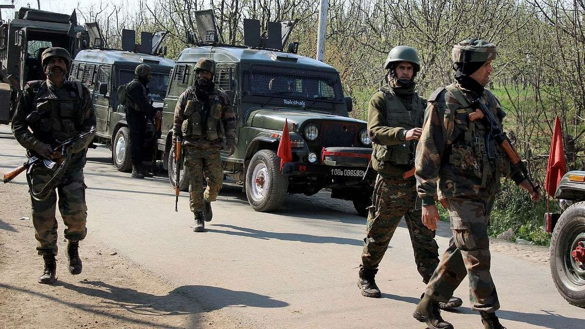 """<div class=""""paragraphs""""><p>A junior commissioned officer (JCO) and four soldiers were killed in action during a gunfight with militants in Jammu and Kashmir's Poonch sector. Representational image.</p></div>"""