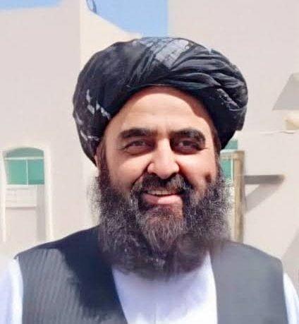 """<div class=""""paragraphs""""><p>Foreign Minister Amir Khan Muttaqi.</p></div>"""