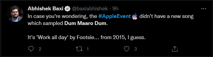 Did Apple Use RD Burman's 'Dum Maro Dum' at the iPhone 13 Launch?