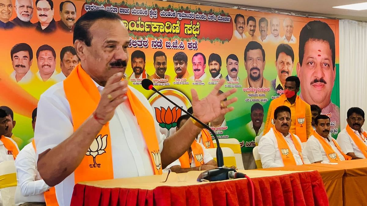 """<div class=""""paragraphs""""><p>BJP's Sadananda Gowda has filed a complaint with the cyber crime police accusing """"malefactors"""" of having """"brought out a fake, lewd video"""".</p></div>"""