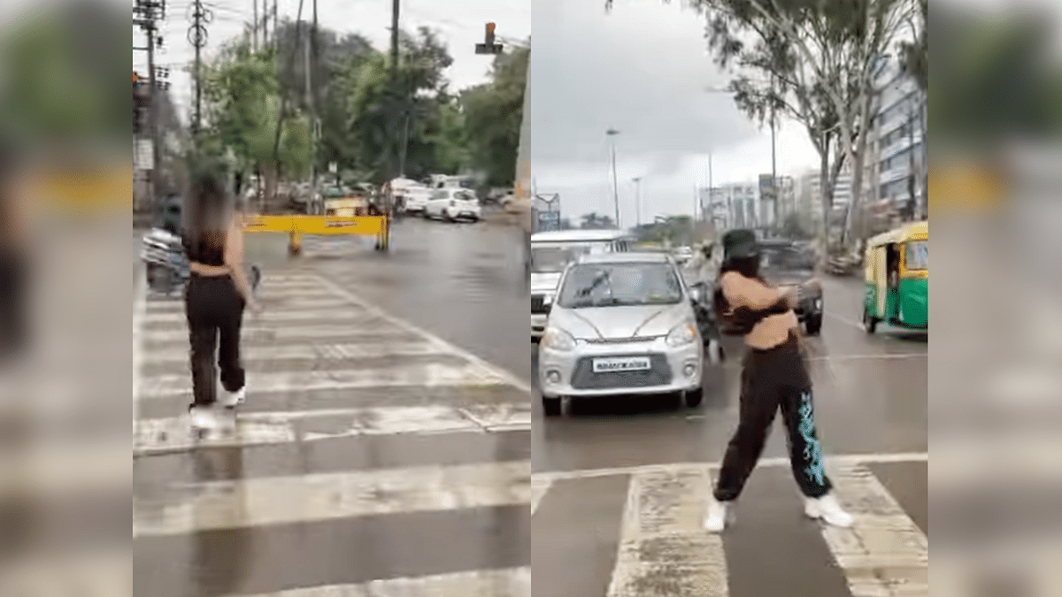 Indore Woman Dances on Road for Instagram Video, Booked by Police
