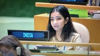 Bin Laden Glorified As Martyr in Pak: Sneha Dubey's UNGA Speech Draws Applause