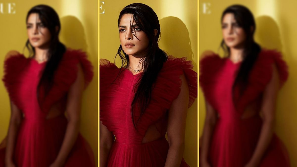 """<div class=""""paragraphs""""><p>Priyanka Chopra's mangalsutra look for a leading magazine is getting attention.</p></div>"""
