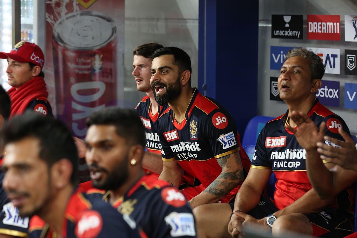 "<div class=""paragraphs""><p>IPL 2021: Virat Kohli, captain of Royal Challengers Bangalore, reacts after the team's victory over Rajasthan Royals.</p></div>"