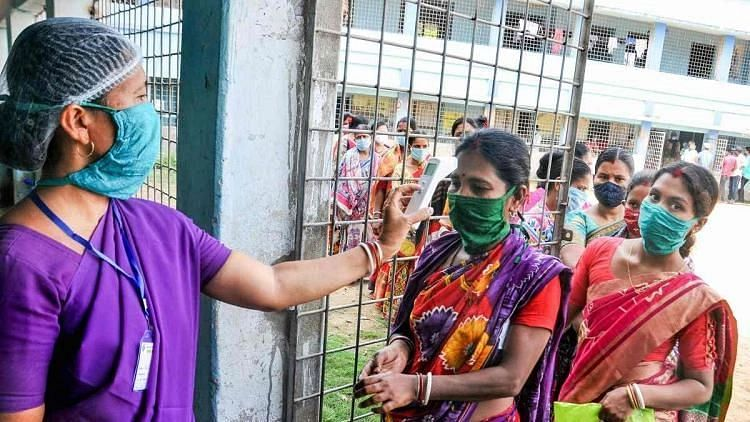 """<div class=""""paragraphs""""><p>The Election Commission also urged the state Health Department to ramp up COVID-19 vaccination in the nine districts as possibility of public gathering will be high on polling days.</p></div>"""