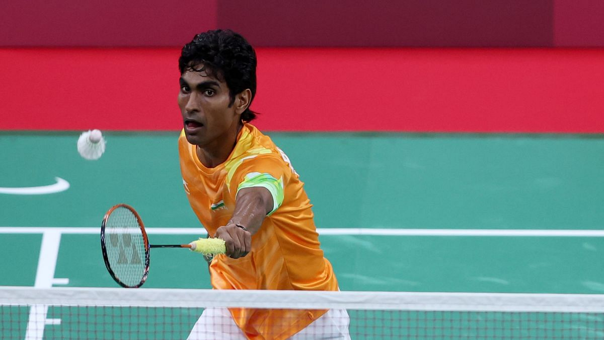 """<div class=""""paragraphs""""><p>Pramod Bhagat won Gold in the men's singles SL3 event at Tokyo Paralympics.</p></div>"""