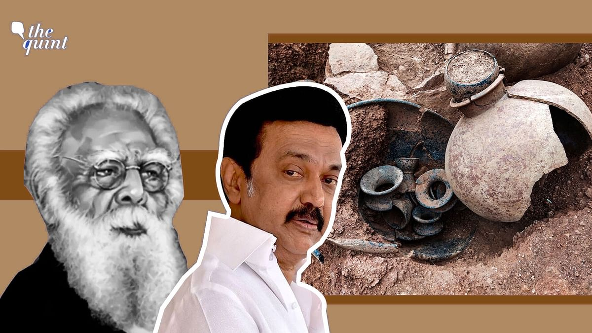 """<div class=""""paragraphs""""><p>Archeologists working at an excavation at Shivakalai in Tamil Nadu's Thoothukudi district, have found an urn, with rice and soil samples, all of which date back to 1155 BC.</p></div>"""