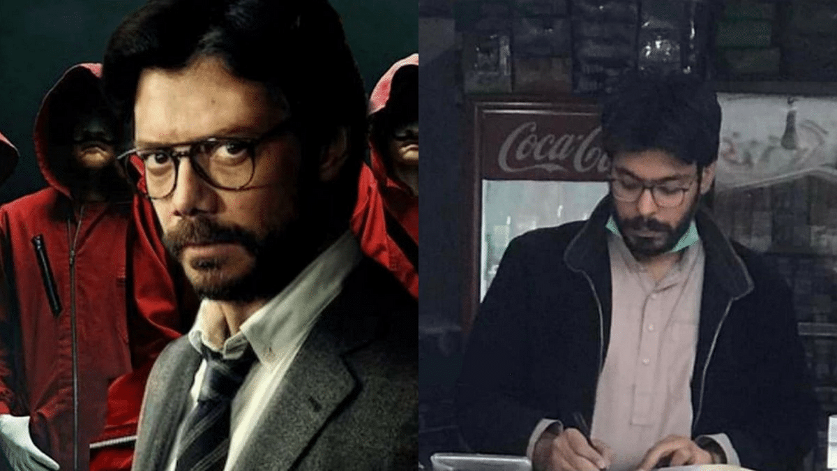 This Money Heist Character Has a Doppelganger in Pakistan!