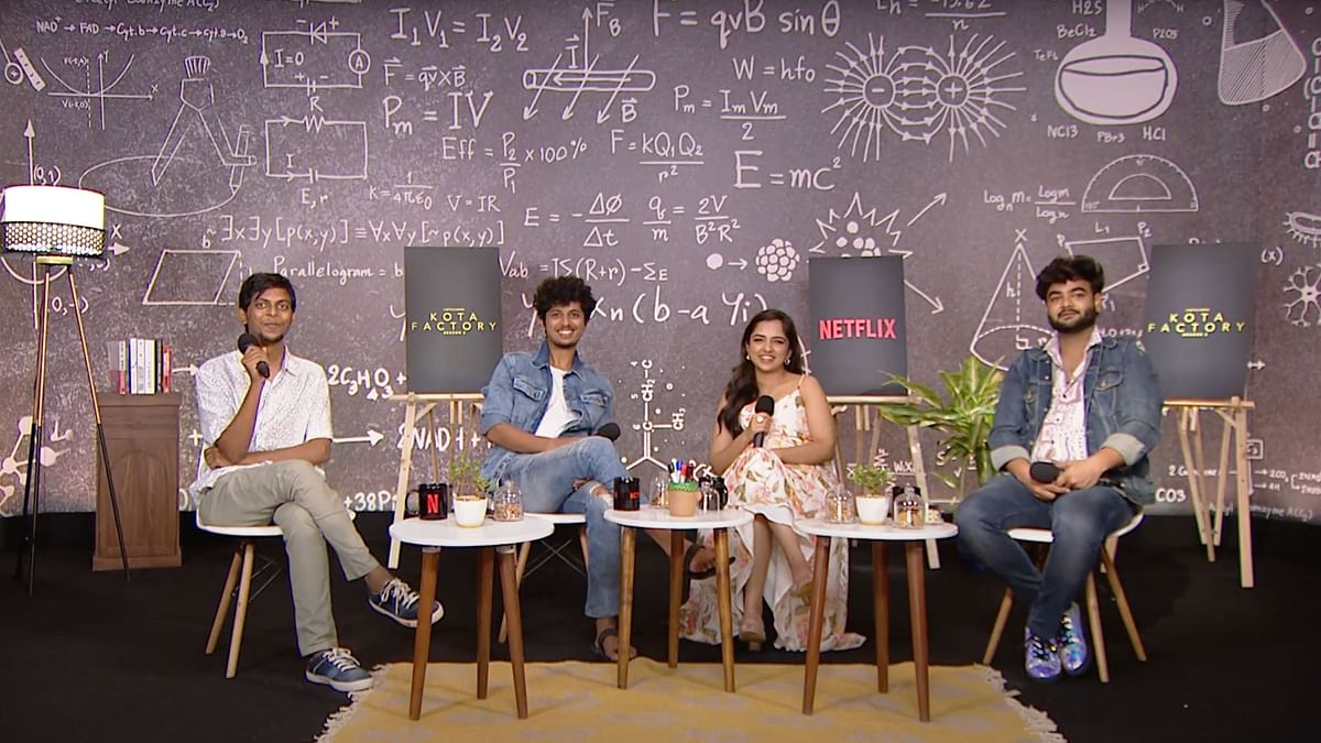 Team 'Kota Factory' on Season 2 and the Show's Impact on Students
