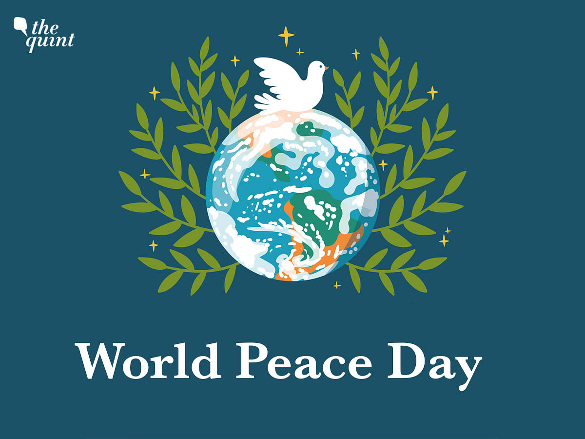 """<div class=""""paragraphs""""><p>The International Day of Peace is celebrated every year on 21 September</p></div>"""