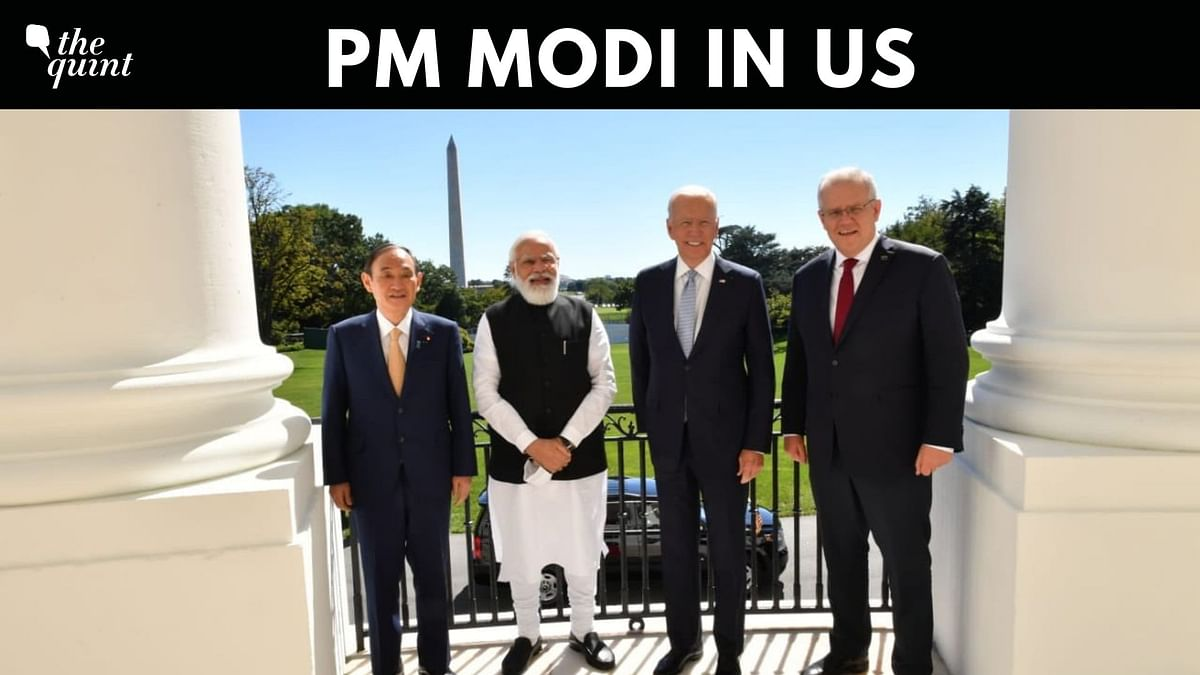 US Visit | 'The Quad - a Force for Global Good': PMO Tweets Photo of Leaders
