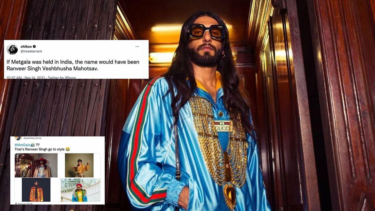 "<div class=""paragraphs""><p>Met Gala 2021 Red Carpet has given rise to hilarious Ranveer Singh memes.</p></div>"