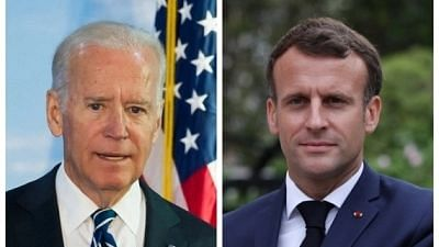 Macron and Biden Hold First Phone Call Since AUKUS Submarine Deal Crisis