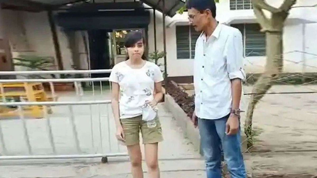 Assam Teen in Shorts Forced to Wrap Curtain Around Herself Before Taking Exam