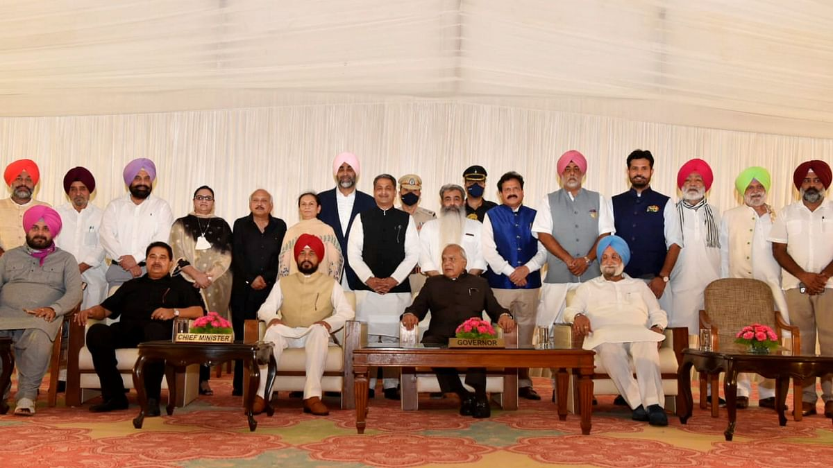 Punjab Cabinet: Portfolios Allocated to New Mins, Channi Keeps Justice, Tourism