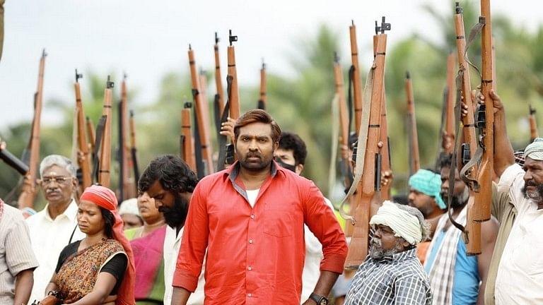 """<div class=""""paragraphs""""><p>Vijay Sethupathi in <em>Laabam</em>.</p></div>"""