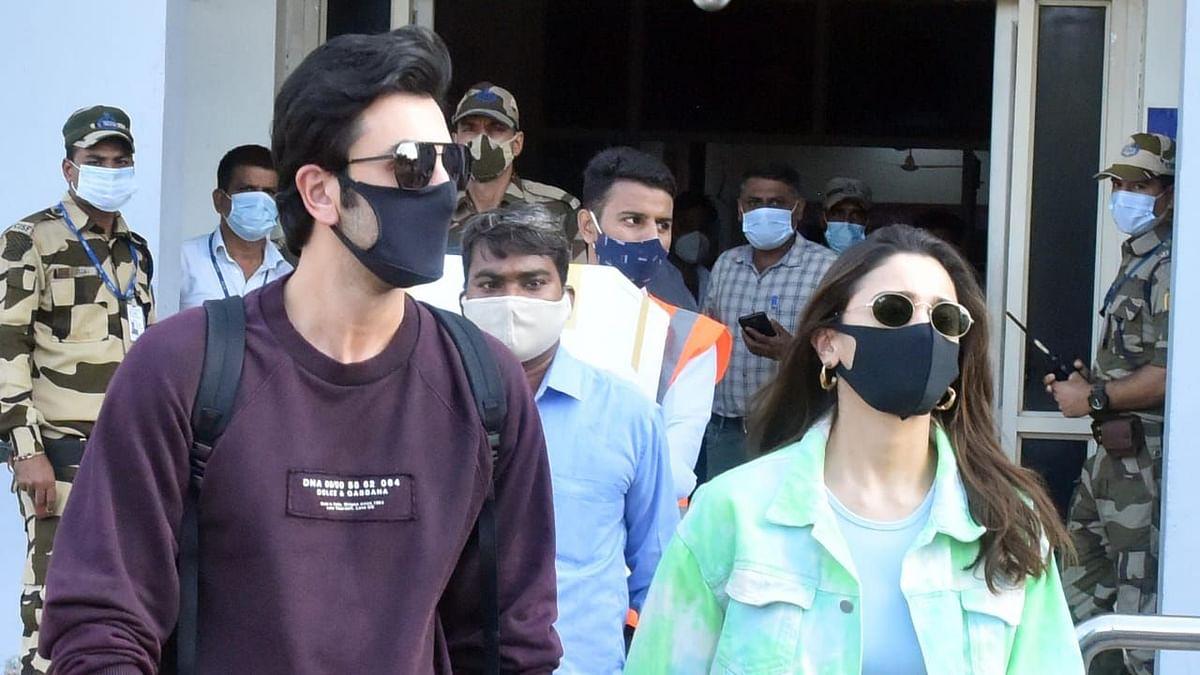 Pics: Ranbir Kapoor Spotted in Jodhpur With Alia Bhatt Ahead of His Birthday