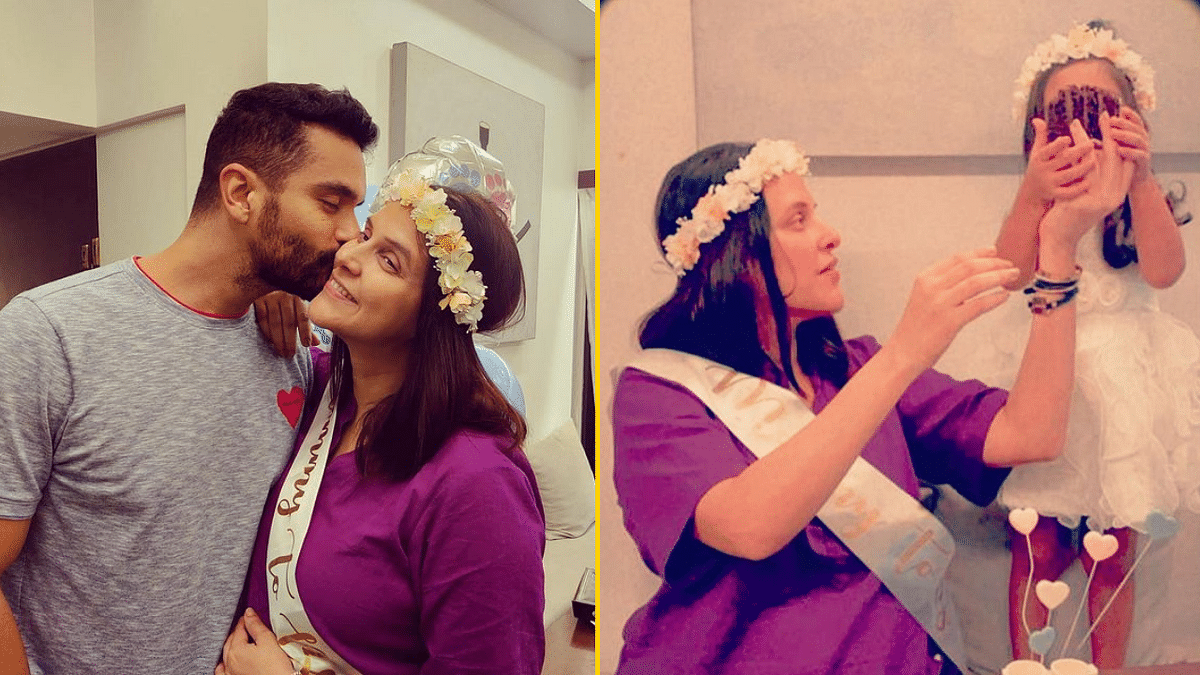In Pics: Neha Dhupia Shares Glimpses Into Her 'Surprise' Baby Shower