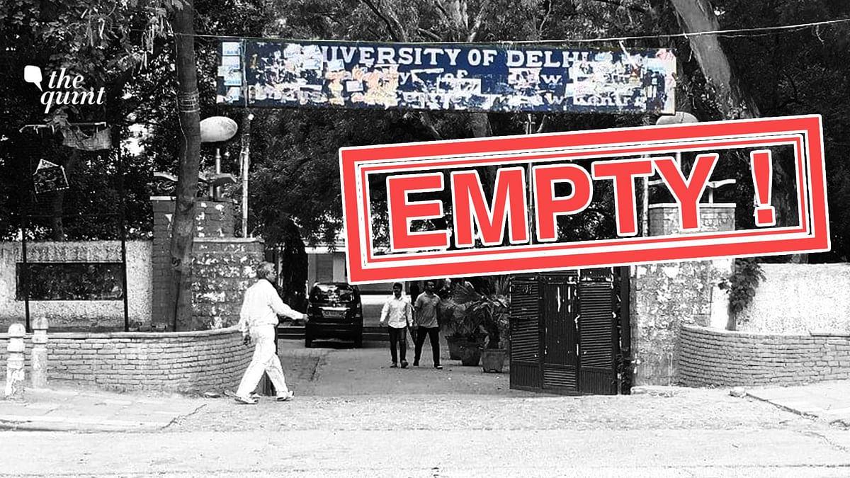 "<div class=""paragraphs""><p>Few students return to campuses as University resumes offline classes.</p></div>"
