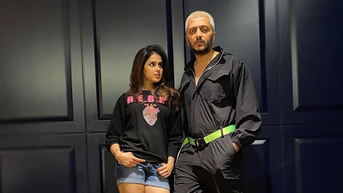 "<div class=""paragraphs""><p>Riteish Deshmukh and Genelia D'Souza were guests on Arbaaz Khan's talk show&nbsp;<em>Pinch.</em></p></div>"