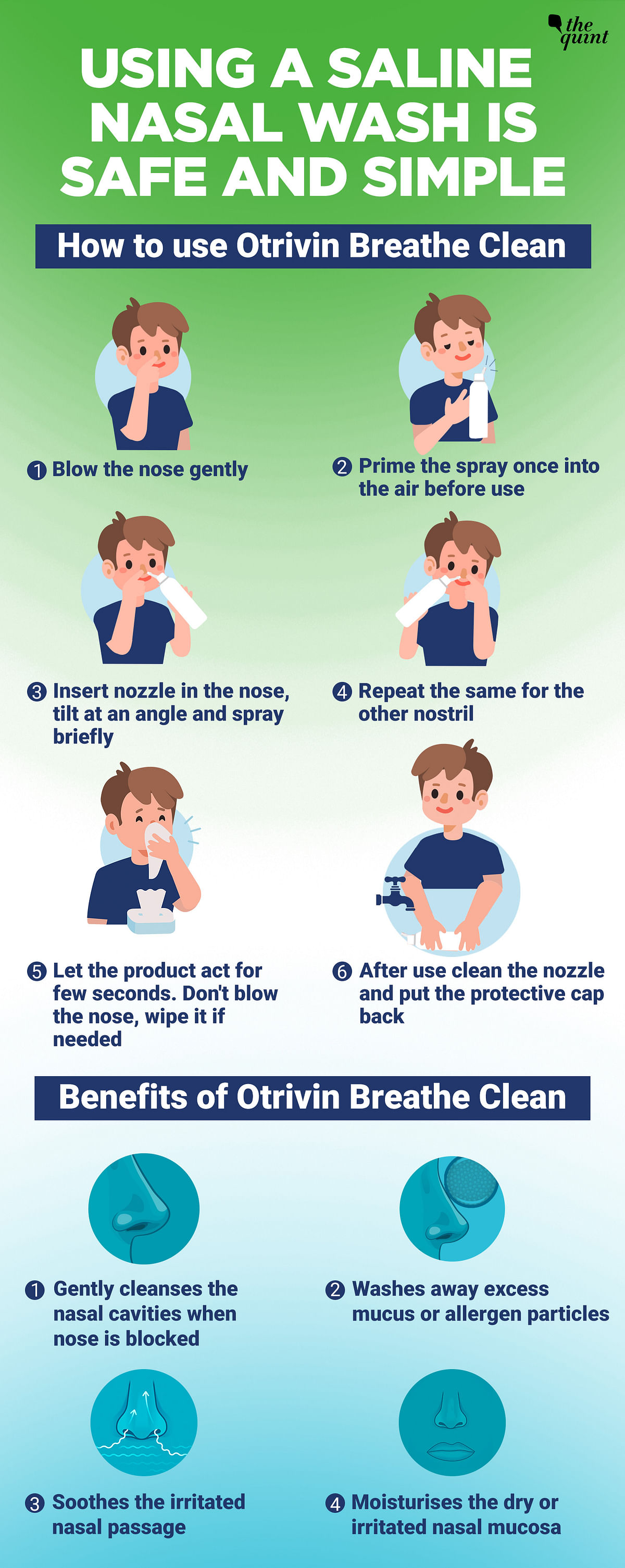 Saline Nasal Washing: The Go-To Solution For Nasal Blockage During Common Cold
