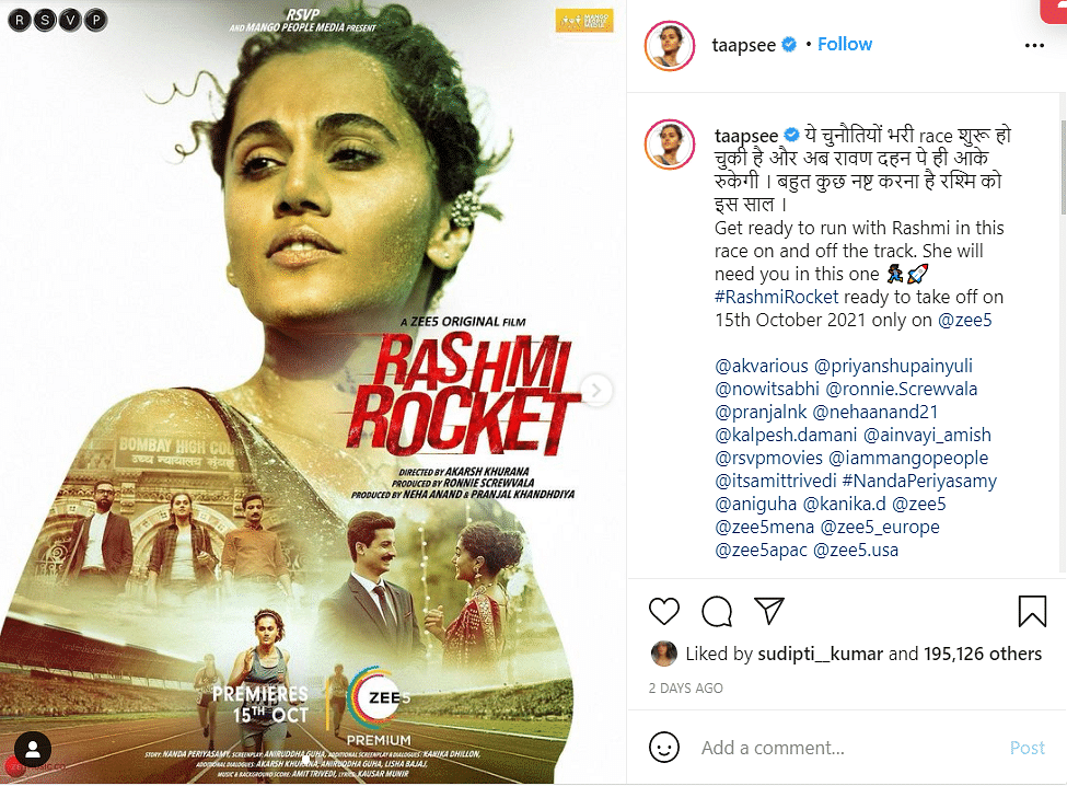 Remember This Line: Taapsee Pannu Reacts to Troll's 'Mard Ki Body' Comment