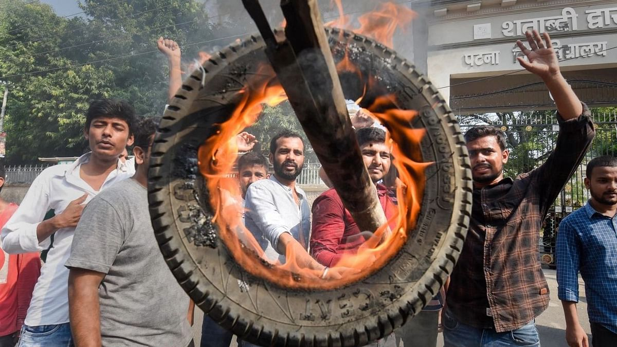 In Photos: Nationwide Protests, Roads Blocked Amid Farmers' Bharat Bandh