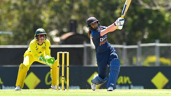 "<div class=""paragraphs""><p>Mithali Raj on the attack against Australia</p></div>"