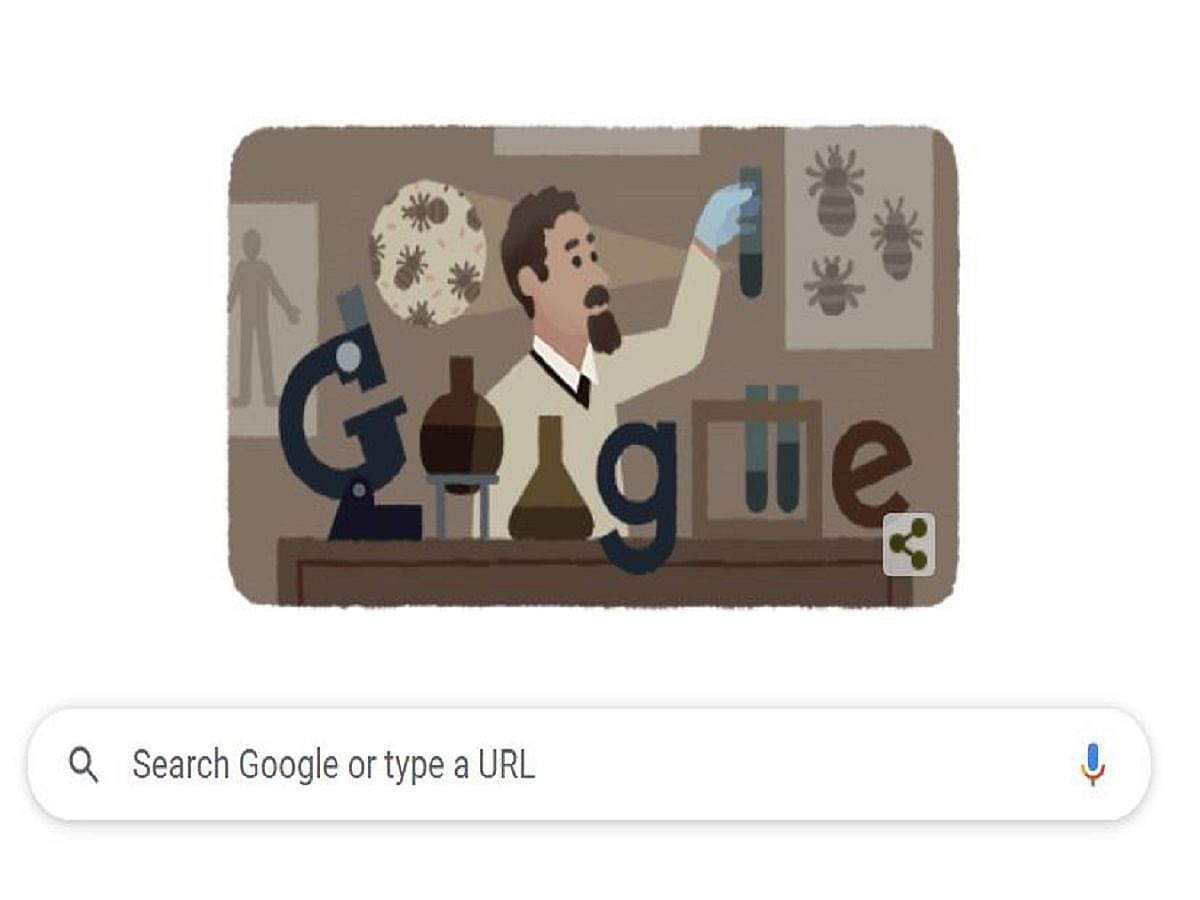 Google Doodle Honours Polish Vaccine Scientist Rudolf Weigl