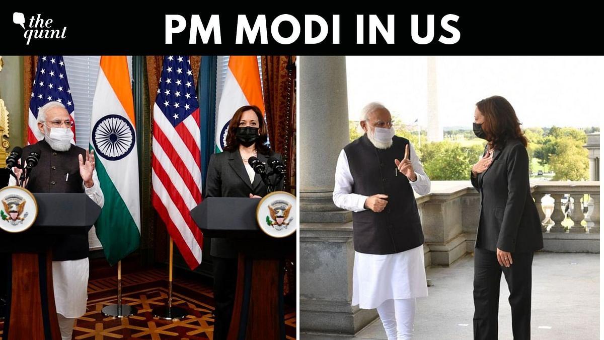 Kamala Harris Hails India's COVID Fight, PM Modi Calls Her an Inspiration
