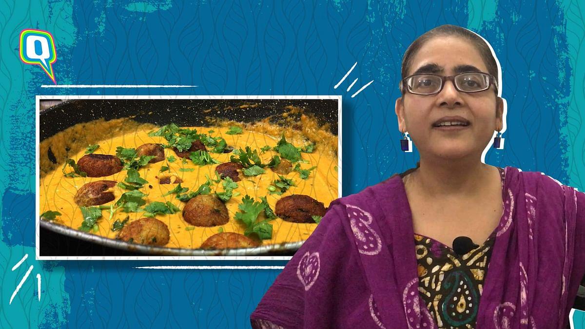 Makhmali Malai Kofta: Paneer Fried Balls in Creamy Curry