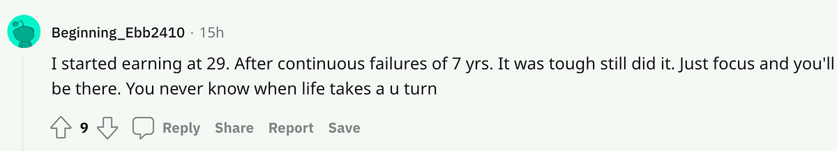 'I'm a Failure, Career Is Over': Netizens Show Support to Discouraged 23-Yr-Old