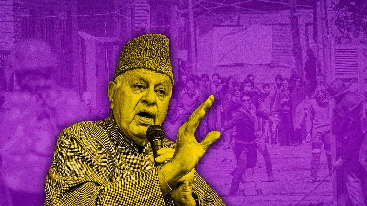"""<div class=""""paragraphs""""><p>National Conference leader Farooq Abdullah.</p></div>"""