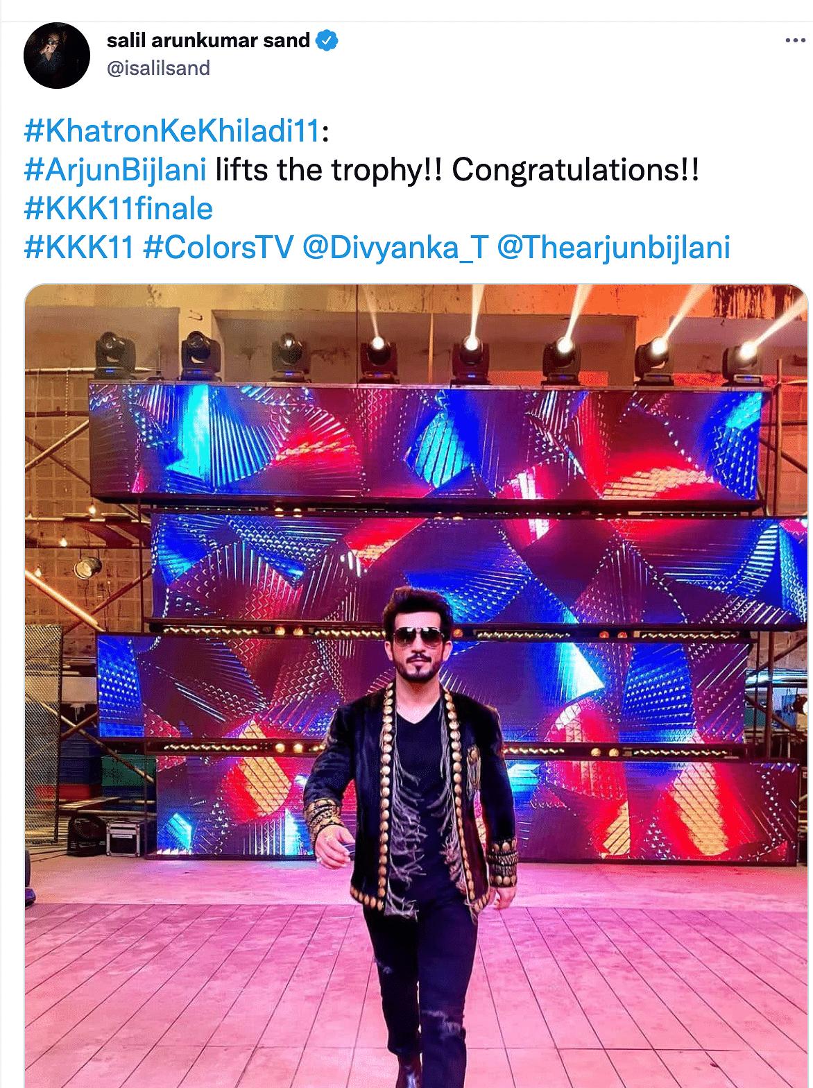 Arjun Bijlani Wins Khatron Ke Khiladi 11? Fans Celebrate Ahead of Finale