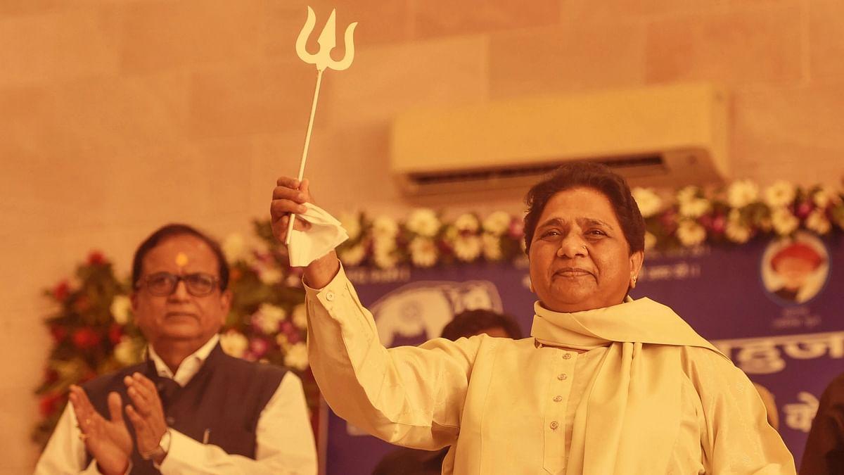 "<div class=""paragraphs""><p>BSP chief Mayawati at the 'Prabuddh Sammelan' on 7 September.</p></div>"